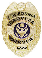 Irvine California process server