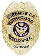 Process servers in Orange, Californi