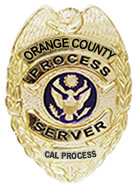 Process Server serving Orange County California