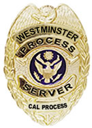 Westminster process servers